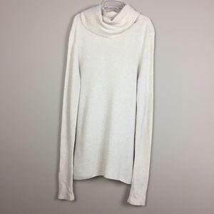 Theory | Wool Camel Turtleneck Sweater Dress